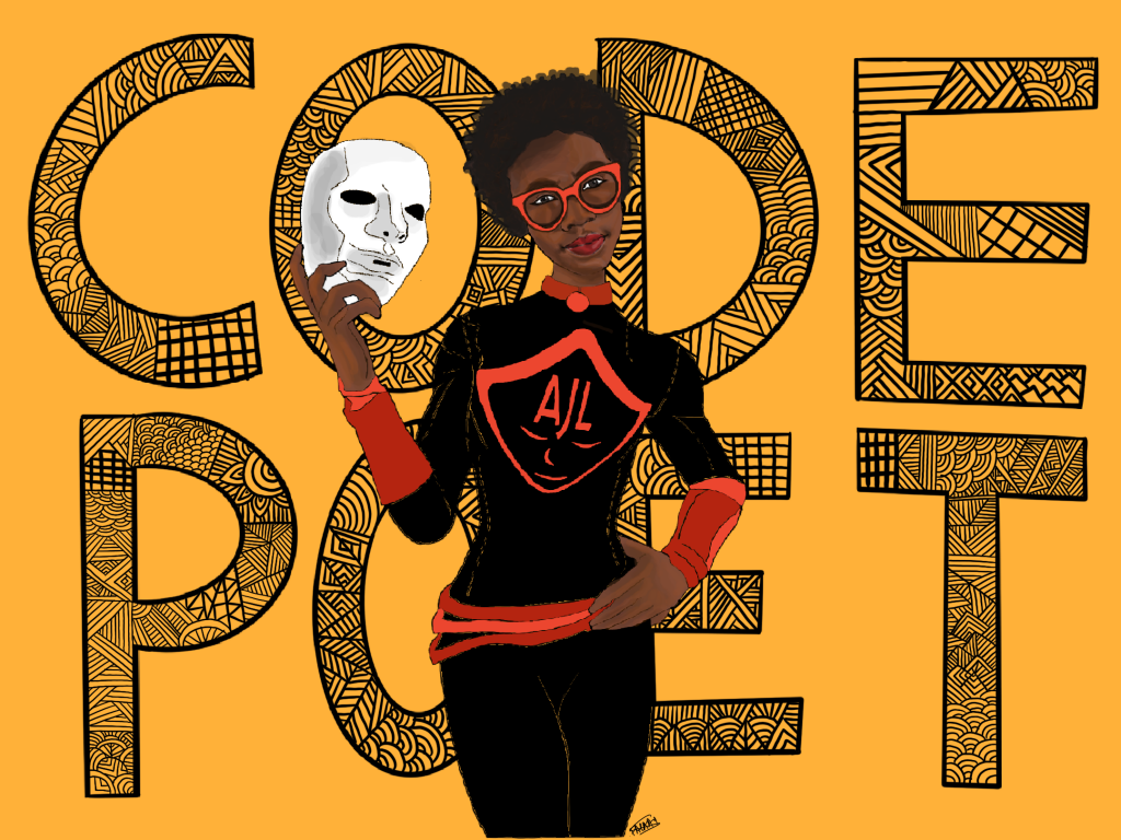Code Poet — Fighting the coded gaze.