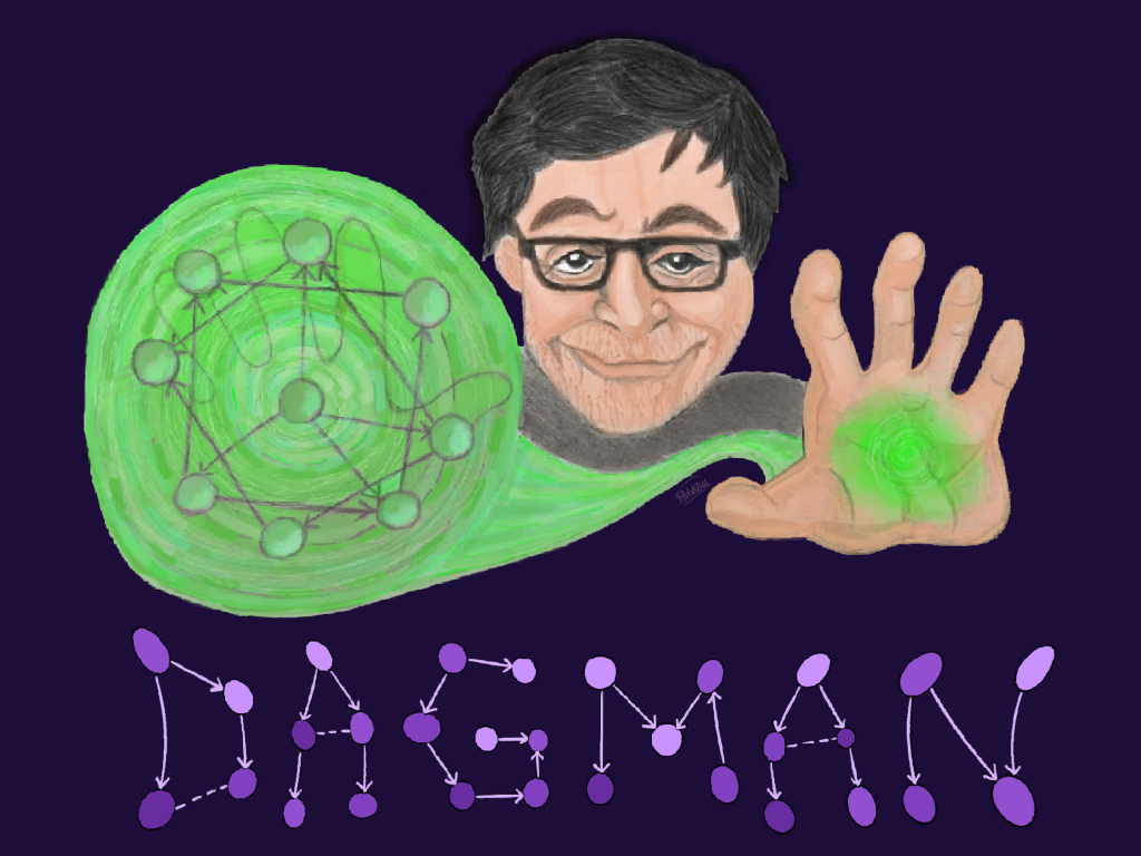 DAGman — He ascended the Ladder of Causation and returned a changed man.
